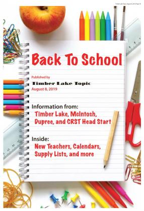Timber Lake Back To School