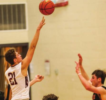 TLHS's Kedrick Martin puts up a shot in the second half.